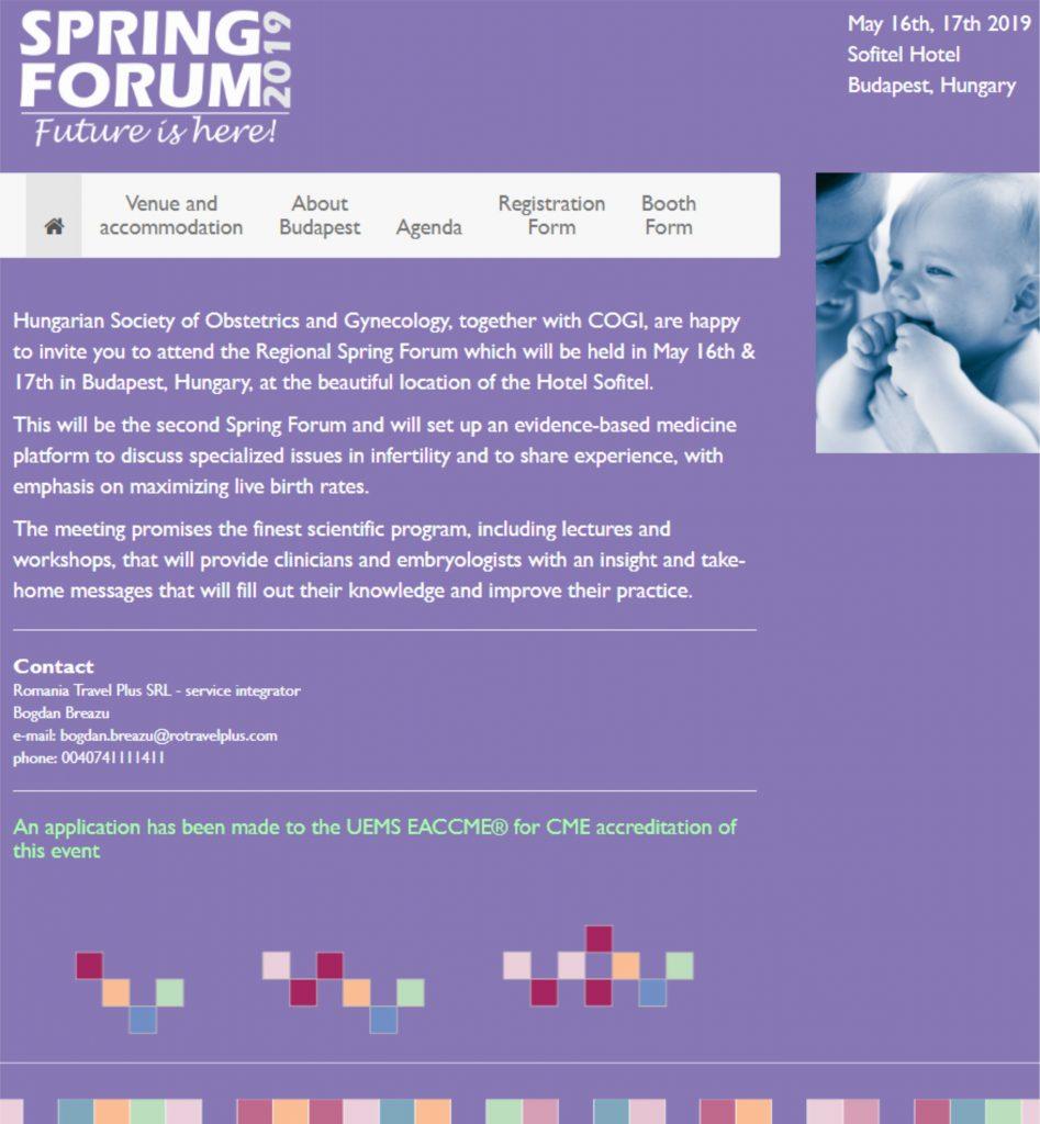 Regional Spring Forum 2019